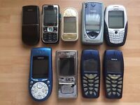 Collection Nokia 8800 Sirocco,7650,7370,7360,6600,3650,3510i,N91
