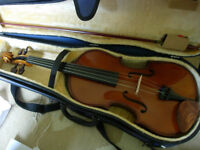 Stentor 16'' viola with bow and case -played only a handful of times, less than 1/2 price (RRP £204)