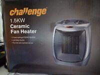 Ceramic fan heater brand new 1,5KW