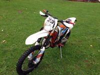 KTM 125 6DAYS 2014 MINT NOT YAMAHA SUZUKI RAPTOR PITBIKE