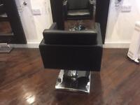 Six salon chairs
