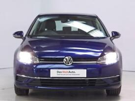 Volkswagen Golf MATCH EDITION TSI BLUEMOTION (blue) 2017-04-28