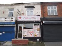 **LOCK UP SHOP**STONEY LANE*A3 LICENCE** TWO BEDROOM FLAT-CURRENTLY RENTED AT £450PCM** **CALL NOW**
