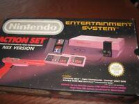 NINTENDO ENTERTAINMENT SYSTEM (NES) ACTION SET BOXED