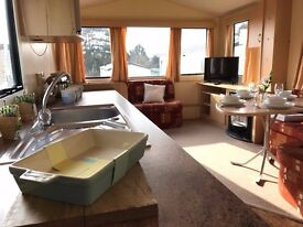 Wonderful 6 berth Holiday Home on beautiful Park, 28ft x 10ft Willerby Herald.