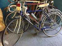 Five vintage racing etc bikes all good original bikes