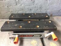 black & decker jobber portable work station / bench £10