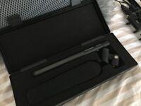 Sennheiser MKH 416 shotgun microphone + Rycote modular windshield and Windjammer + Rode boompole