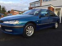 Peugeot 406, Blue, 2002, 2.0 Diesel, 91k Low Miles, Service History, Tax and Mot