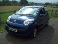 Citroen C1 Rhythm 3 door hatchback.