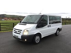Ford transit 85 t280 swb trend tourneo 9 seater, 2008 (58) reg, 1 co owner, fsh, cruise control,