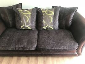 3 seater sofa and chair immaculate condition*