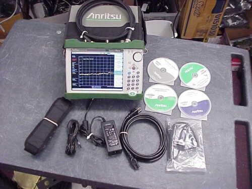 Anritsu MS2711E-08 Handheld Spectrum Analyzer 100 kHz to 3 GHz- 30 DAY WARRANTY