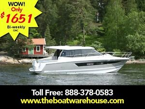 2016 jeanneau NC 11 Twin Volvo D3-200 Diesel Sterndrives with...