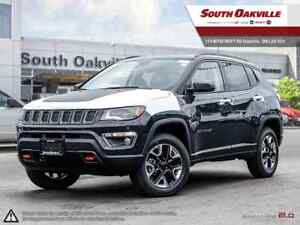 2018 Jeep Compass Trailhawk | 0% UP TO 60 MONTHS OAC