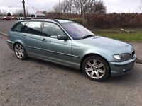 E46 BMW 325 i SE TOURING ESTATE NEEDS CLUTCH LONG TAX AND LONG MOT
