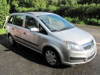 LOW MILEAGE ZAFIRA 7-SEATER, 2007, 1.6, STUNNING, 1 OWNER, LONG MOT, 50 MPG, PART-EXCHANGE WELCOME