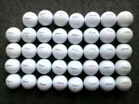 39+6 Titleist golf balls in very good condition, Velocity, nxt tour sf, dt solo