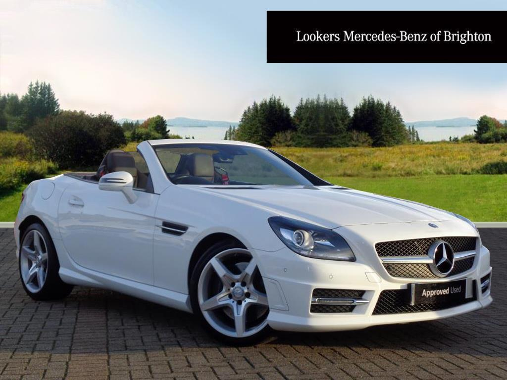 mercedes benz slk slk 250 d amg sport white 2015 10 14. Black Bedroom Furniture Sets. Home Design Ideas