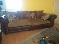 Stylish 3 Seater sofa and armchair