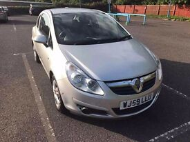 Vauxhall Corsa 1.2. 3 door. Very good condition inside and out. Low mileage. Very reliable car.