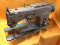Pfaff 238 Industrial zig - zag sewing machine head for repair or spares.