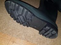 Brand new high leg welly boots mens 10.5