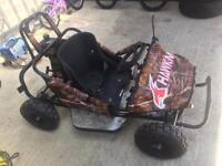 New 80 cc petrol auto of road buggy