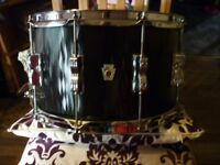 Ludwig black flame snare drum