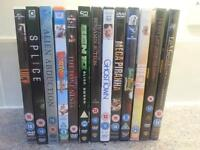Selection of DVDs - various titles. All work perfectly