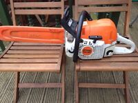 stihl ms 391 chainsaw full service last week costing £125 these machines cost £760 new bargain £370
