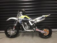 2011 HUSQVARNA CR 50 KIDS MX MOTOCROSS BIKE