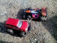 Remote control cars x2 for spares