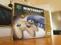 Nintendo 64- Gold Limited Edition