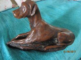 Lovely Dog Statue