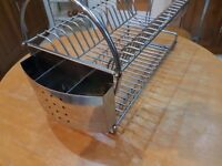 Steel sink dryer