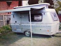 ERIBA PUCK 225GT lightweight pop top micro caravan by hymer