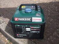 inverter Generator Parkside 1200 w 4 stroke