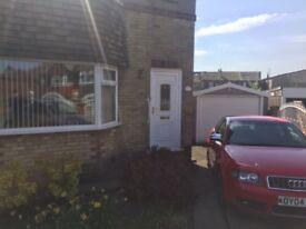 3 Bedroom Semi Detached house in quite cul de sac, close to motorway, supermarket public transport