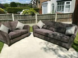 Ex Display 3 + 2 seater sofa