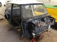 Classic Mini spares parts shell