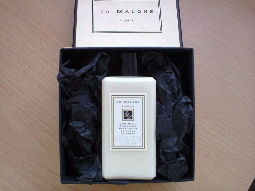 Jo Malone London Body Lotion. UNUSED. Lime, Basil & Mandarin 100ml. **Ideal Xmas Gift**