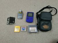 Game boy color including 2 games and gameboy camera