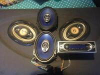 Complete Sony car sound system for £60