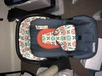 Cosatto Hold 0+ car seat like new