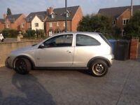 Vauxhall CORSA 1200cc 3 door hatchback silver petrol