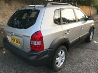 2006 Hyundai Tucson cdx 2.0L 5 door hatchback 4x4 manual petrol 4wd one year mot service history