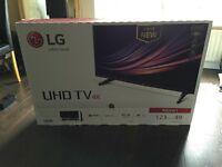 "LG49UH610V Ultra HD 2016 4K 49"" Smart WebOS TV"