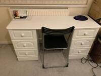 Dresser/desk including or excluding chair