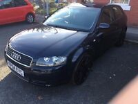 Audi A3 1.6 - LOW MILEAGE - CHEAP TAX + INSURANCE - (NOT VAUXHALL ASTRA VW GOLF POLO MERC )